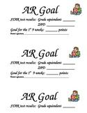 AR Goal and ZPD