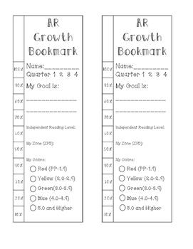 AR Growth Bookmark