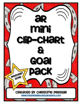 Accelerated Reader Mini Clip-Chart and Goal Pack {Western Theme}