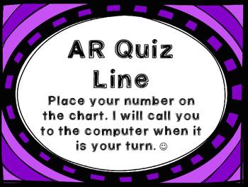AR Quiz Line FREEBIE