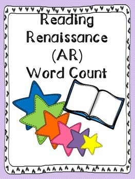 AR-Reading Renaissance Word Count Tracker