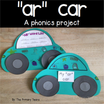 AR Word Work Craftivity - A Phonics Project