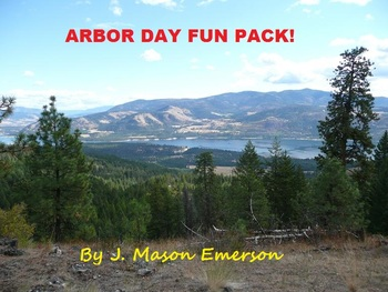ARBOR DAY FUN PACK! (COMMON CORE, WORD SEARCHES, CLIP ART