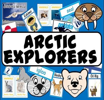 ARCTIC EXPLORERS -LITERACY EYFS KS 1-2 ANIMALS ROLE PLAY S