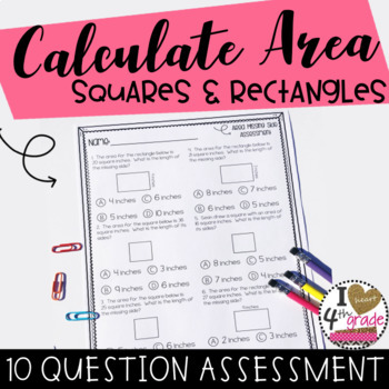 AREA ASSESSMENT: 10 Question assessment for Gradecam CCSS