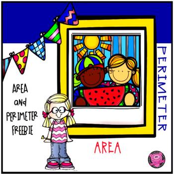 AREA and PERIMETER FREEBIE POSTER