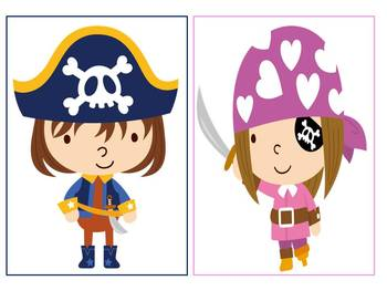ARGH! Pirate Category Sort Game