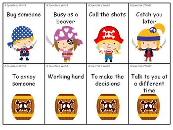 ARGHH!!!!!! Pirate Idioms