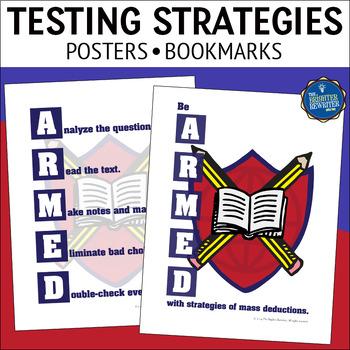 Test Prep Strategies Posters & Bookmarks