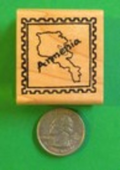 ARMENIA Country/Passport Rubber Stamp