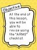 ARMS Revision Checklist