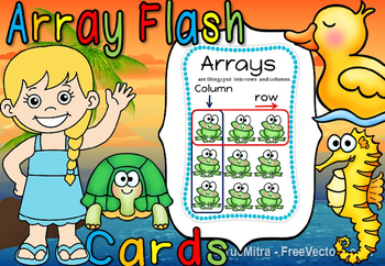 ARRAY FLASH CARDS(50% off for 48 hours)
