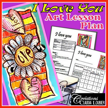 Valentine's Day:  Art Activity and Lesson Plan forKkids: