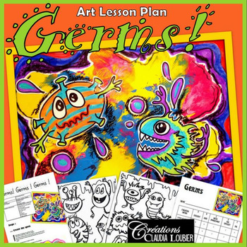 Spring Art Activity and Lesson Plan for Kids: Germs, Winte