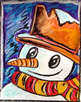 Winter Art Activity and Lesson Plan for Kids: Snowman Clos