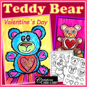 Valentine's Day Art Activity and Lesson Plan for Kids: Teddy Bear
