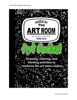 ART RULES!  Activities for the art room.