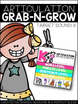 ARTICULATION GRAB-N-GROW: K