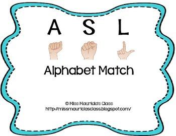 ASL Alphabet Match