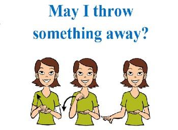 ASL- Classroom management signs