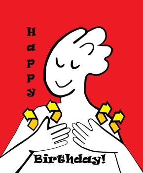 ASL Happy Birthday Poster