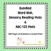 American Sign Language (ASL) Word Wall, Sensory Reading an