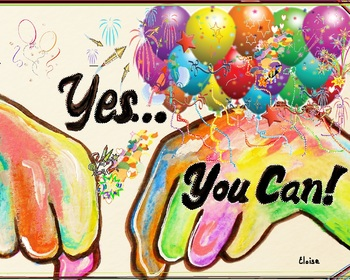 "ASL ""Yes, You Can"" POSTER"