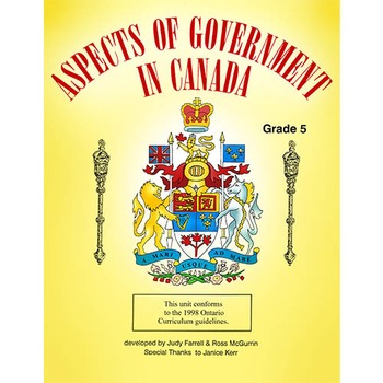 ASPECTS OF GOVERNMENT IN CANADA