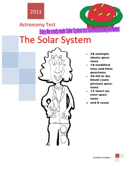 ASTRONOMY the SOLAR SYSTEM (80 question test)