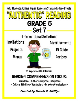 AUTHENTIC READING - GRADE 5 SET 7 (Of 8)