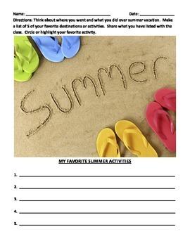 WRITING PROMPTS: 8 AUTUMN/FALL PROMPTS (Grades 2 - 5)