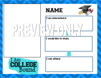 AVID College Bound Goal Setting Editable