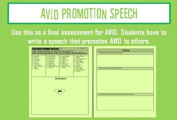 AVID Promotion Speech
