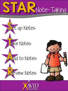 AVID: STAR Note Taking