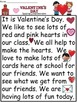 A+Valentine's Day Comprehension: Differentiated Instructi