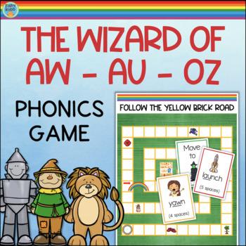 Vowel Digraphs Game AW AU
