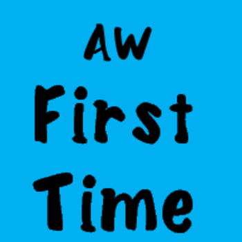 AW First Time Font