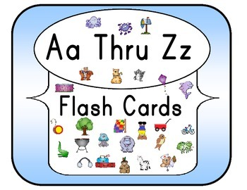 Aa Thru Zz Flash Cards Set 3