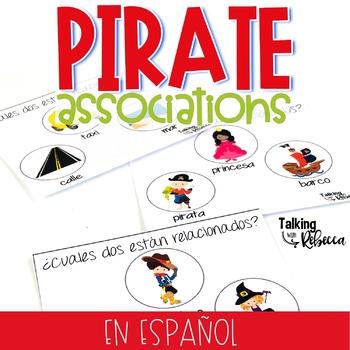 Aarrr! Pirate Associations Spanish Version
