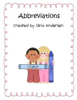 Abbreviation Fun!