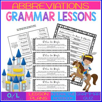 Abbreviations {Journeys} Week #15