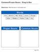 Abby Explorer Grammar - First Level: Common/Proper Nouns -