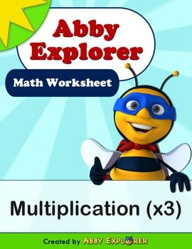 Abby Explorer Math - Multiplication x3