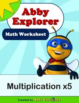 Abby Explorer Math - Multiplication x5