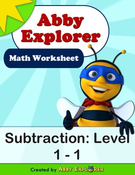 Abby Explorer Math - Subtraction : Level 1-1