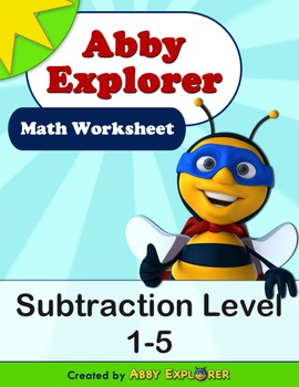 Abby Explorer Math - Subtraction : Level 1-5