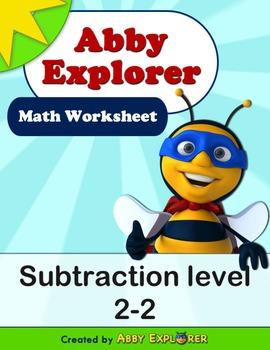 Abby Explorer Math - Subtraction : Level 2-2