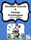 Abe Lincoln & George Washington QR code Books