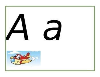Abecedario Alfabeto Español