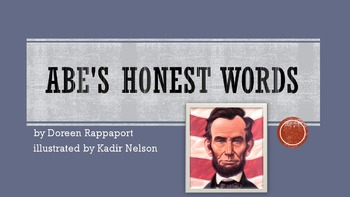 Abe's Honest Words by Rappaport, Text Talk Collaborative C